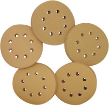 5-Inch 8-Hole Hook and Loop Sanding Discs Sandpaper Disc 100 Pieces 150 220 Grit