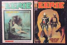 1972/78 Eerie Warren Magazine #37 Fn #85 Vg+ Lot of 2