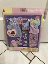 Barbie MIDGE & BABY Happy Family Outfits