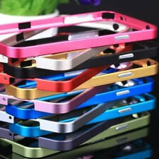 No Screw Ultra Thin Metal flat Frame Bumper Case for Samsung S5 i9600 S4 i9500