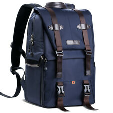 K&F Concept Extra Large Camera Laptop Backpack Bag Case Waterproof w/ Rain Cover