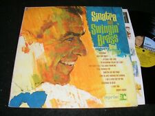 Frank SINATRA AND SWINGIN' BRASS Gatefold LP REPRISE 1961 w NEAL HEFTI arrangmnt