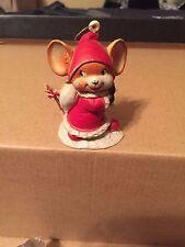 Santa Mouse Christmas Ornament - Free Shipping!