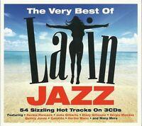 THE VERY BEST OF LATIN JAZZ - 3 CD BOX SET - HERBIE HANCOCK, CANDIDO & MORE