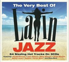 THE VERY BEST OF LATIN JAZZ - 3 CD BOX SET - HERBIE HANCOCK, CANDIDO & MORE