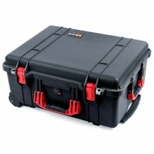 Black & Red Pelican 1560 case. With foam.