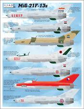 Iliad Design Decals 1/48 Mikoyan MiG-21F-13s # 48034
