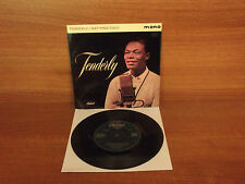 Nat King Cole : TENDERLY : 4 Track Vinyl EP : Capitol : EAP 1-20108