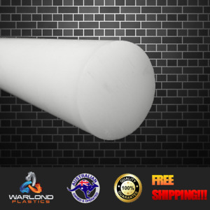 UHMWPE ROD - WHITE  - SELECT SIZE - FREE SHIPPING!!!