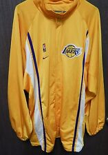 Los Angeles Lakers Nike Warm Up Basketball Jacket Size XX-Large NBA