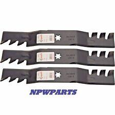 EXTREME Mulch Blades Set of 3 i1050 RZT50 SLT1050 LTX1050 ZTT50 R12809