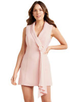 New with Tags FOREVER NEW Jasmine Satin Tuxedo Dress - size 12 - RRP $159.99