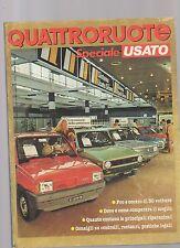 Quattroruote Speciale Usato ottobre 1982