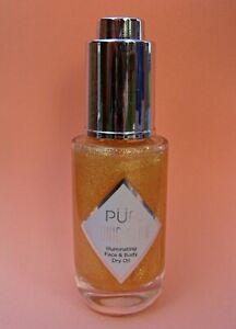 Pur PÜR Iconic Glow Illuminating Face and Body Dry Oil NIB 1 fl oz/50ml NO BOX