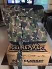 ICEBREAKER Woodland Camo Insulated Hunting Boot Blanket Covers Size MEDIUM 8-10