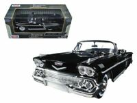 CHEVROLET IMPALA CABRIOLET 1:24 Scale Diecast Toy Car Model Die Cast Truck Black