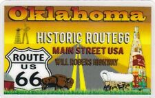 HISTORIC ROUTE 66 Oklahoma / Drivers License  Will Rogers Highway Get Your Kicks