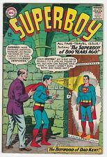 Superboy #113 VF- 7.5 Superman DC National Comics Presents Curt Swan Clark Kent