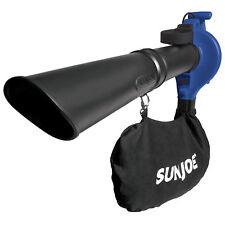 Sun Joe 3-in-1 Electric Blower | 240 MPH | 13 Amp | Vacuum | Mulcher (Blue)