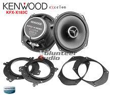 "Kenwood Excelon KFC-X183C 7"" 2 Way Coaxial Speaker 280W Custom Fit Adapter"