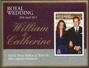 BIOT 2011 - Royal Wedding of Prince William and Catherine Middleton - Sc 426 MNH