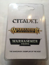 Warhammer 40k The Sanguinor, Exemplar of the Host NIB Resin