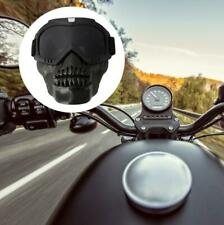 Outdoor abnehmbare Motorradbrille Helm Maske Ski Sport Motorrad Brille♥