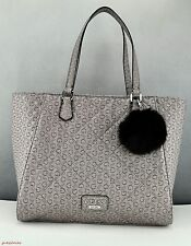 NWT Limited Pristine Handbag GUESS Satchel Globes Ladies Taupe Bag