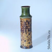 Vase Bay 60 30 Design Bodo Manz H=30,3 cm 70er Jahre/70s - WGP - Fat Lava #782