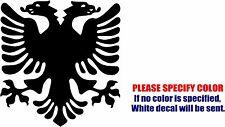 "Albanian Eagle Symbol Decal Sticker JDM Funny Vinyl Car Window Bumper Truck 6"""