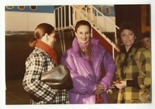 Jacqueline de Ribes & Jacqueline Bisset - Original Vintage Photo Peter Warrack