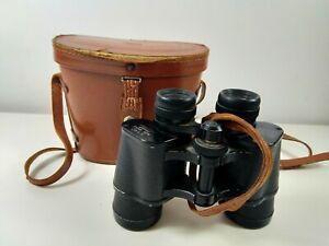 Vintage Ocean 8 x 40 Wide Angle Binoculars Coated & Case #124211