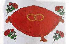Vitrostatiques électrostatiques coussin pour alliances 193423 mariage decoration