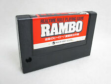 MSX Rambo only Cartridge Japanese Video Game msx