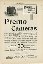 1898 Premo Cameras Ad Rochester Optical NY Photography