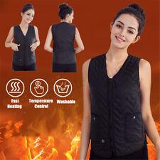 5V USB Electric Heating Vest Women Men Warm Heated Pad  Body Winter Warmer