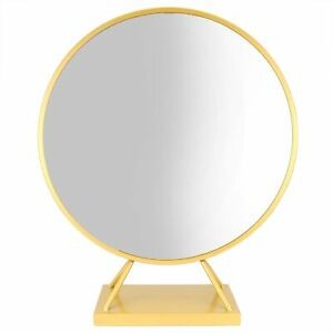 Round Makeup Mirror With Base Modern Vanity Mirrors Dressing Table Decoration