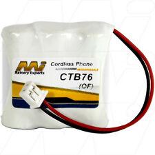 CTB76 3.6V NiMH Cordless Phone Battery