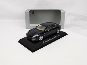 Porsche Panaméra I phase II 4S Executive bleu foncé 1/43 Minichamps
