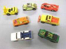 VINTAGE 1960's TOOTSIE TOYS DIE CAST CARS TRUCKS FIRE TRUCKS LOT OF 7 VEHICLES