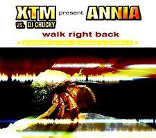 CDM - XTM vs. DJ Chucky Present Annia - Walk Right Back (6 Track Remixes) VG+