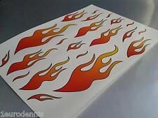 Karosserie Aufkleber Embleme Zum Auto Tuning Flammen Gunstig