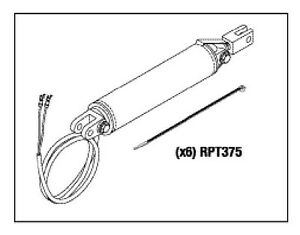 Midmark Ritter Base Cylinder RPI Part #MIC089 OEM Part #002-0094-00