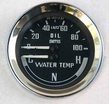 Smiths Oil Pressure & Water Temperature Gauge, for MGB Sprite Midget BHA4900