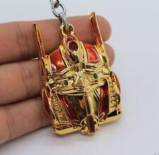 Keychain / Porte-clés - Transformers Optimus Prime Megatron - Gold & Rouge