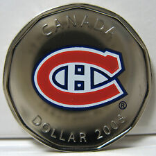 2008 - $1 - NHL - Home Jersey Crests - Montreal Canadiens - NBU ( No Puck )