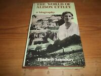 Book. The World of Alison Uttley. A Biography. Saintsbury. Country Writer 1st HB