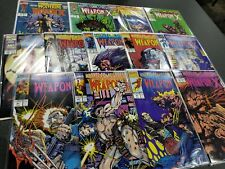 Marvel Comics Presents (Volume 1) - Lot of 13 Issues - Complete Weapon X Story