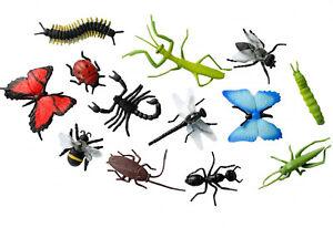 EinzigartigeTier Insekten Figuren mit lebendigen Farben Simulation Spielzeug