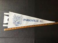 Vintage Felt Pennant The Pas Manitoba Canada Combine Shipping